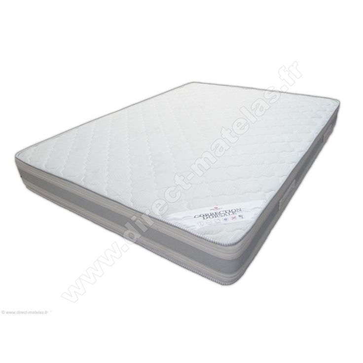 Matelas DIRECT MATELAS CORRECTION DORSALE - 120x190