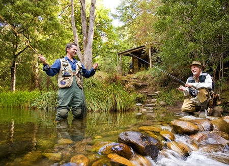 Fly fishing in Victoria's high country