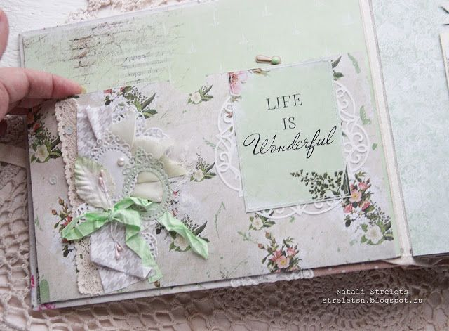 """FLEUR design Blog: Альбом из коллекции """"Краски осени"""" от Натальи Стрелец."""