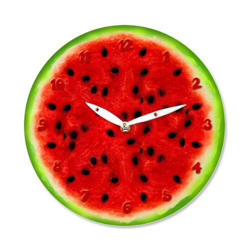 Ceas Pepene    Ceas de perete in forma de pepene.