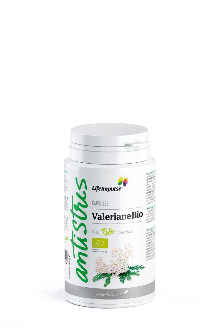 Life Impulse® Valeriana BIO - Relaxant - http://produse.life-care.bio/life-impulse-valeriana-bio-relaxant/