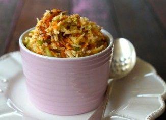Paleo Apple, Carrot & Coconut Brekky Bowl.