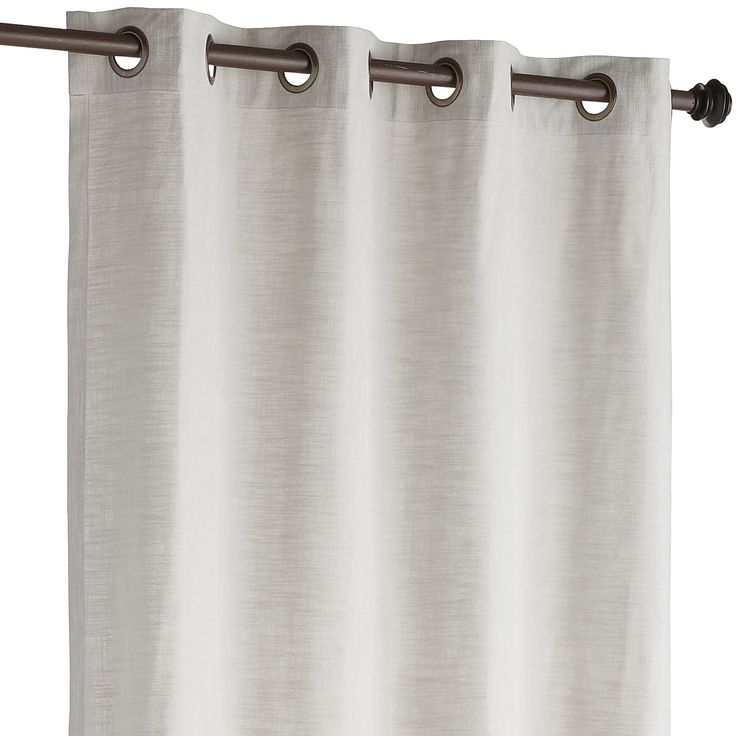 Pier One, Weu0027re Announcing The Arrival Of A Curtain As Classic As Your  Favorite Chambray Shirt. Our Cassidy, Made Of Cotton, Has Grommets For Easy  Hanging ...