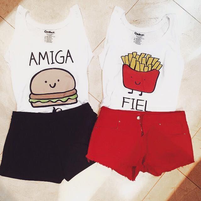 ropa para amigas