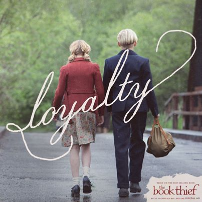 The Book Thief Favorite picture of Liesel and Rudy........