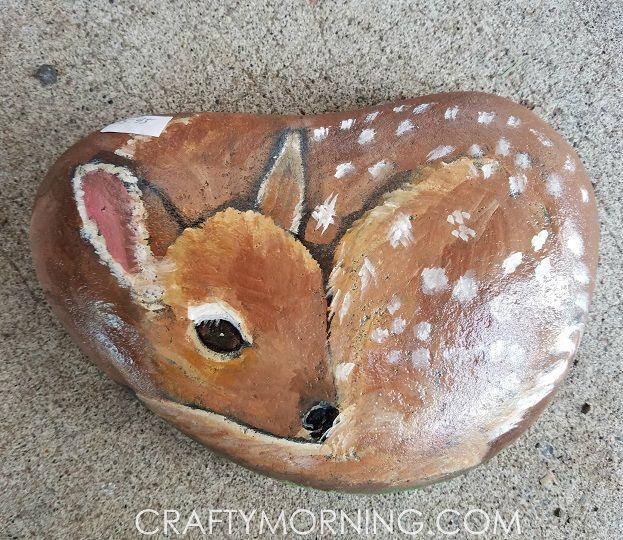 Painted rocks, Rock animals and Raccoons on Pinterest