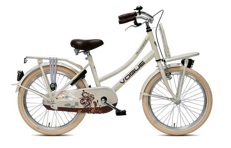 Vogue Transporter 20 inch Meisjes Cream  Een Vogue Transporter is dé transportfiets van Nederland met een elegant design én stijlvolle uitstraling én die goed betaalbaar is. Verder hebben de nieuwe Vogue fietsen een prima prijs-kwaliteitverhouding en zorgt Vogue altijd voor een innoverende collectie. Het mooie is dat er een Vogue fiets is voor elke type fietser en elk type persoon. Misschien houdt u van een transportfiets met eigentijdse vormen en modieuze kleuren of u vindt bijvoorbeeld de…