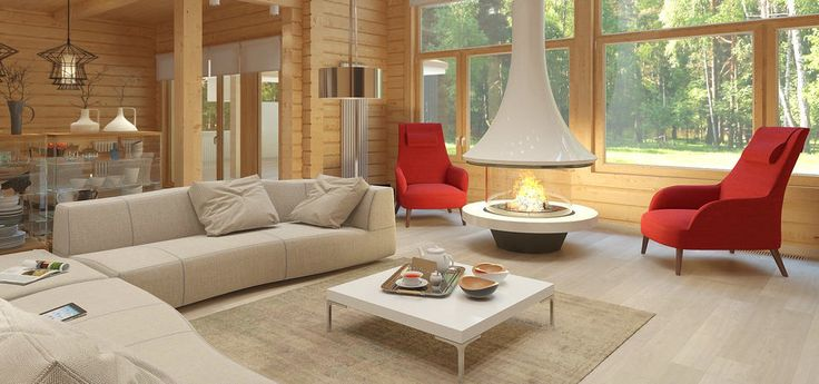 Деревянный сруб может и должен быть стильным, современным и уютным. В нашем сегодняшнем
