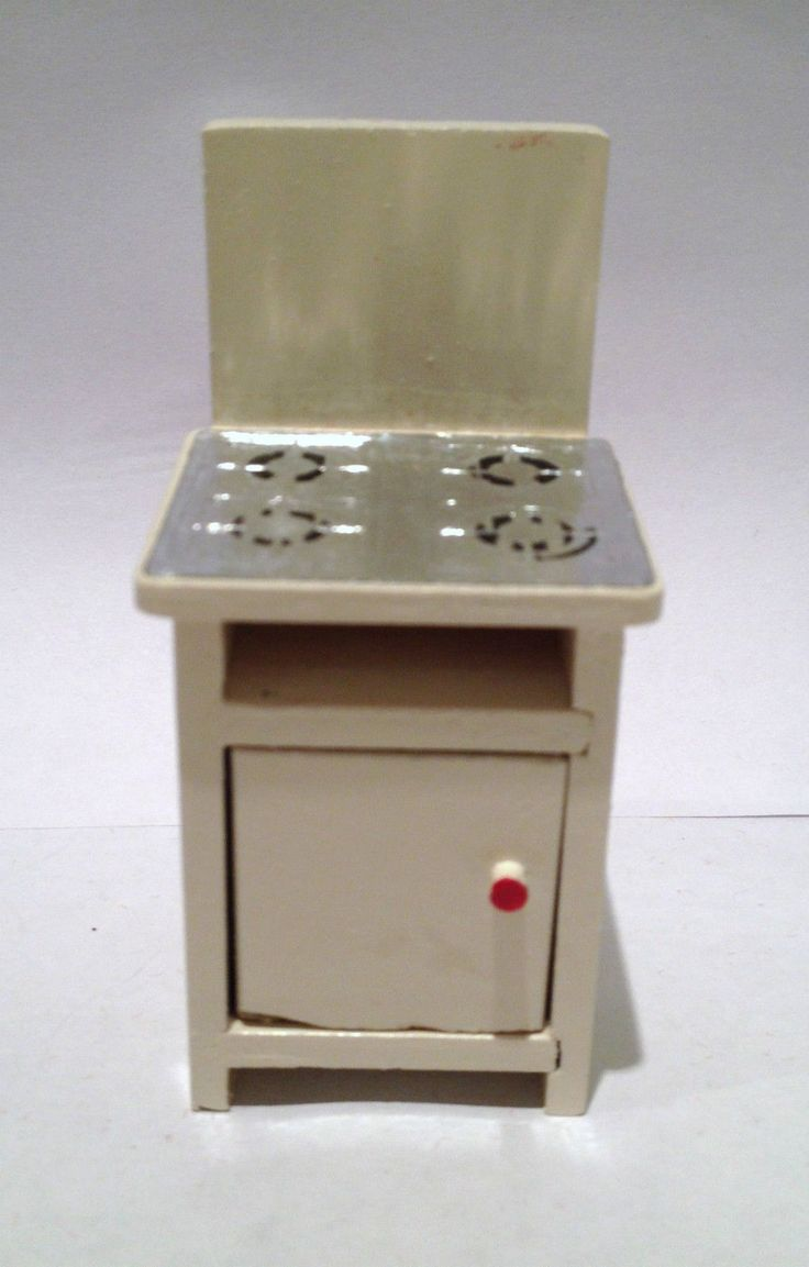 Vintage Dolls house Barton 1950's White Cooker1/16th Lundby MINT | eBay
