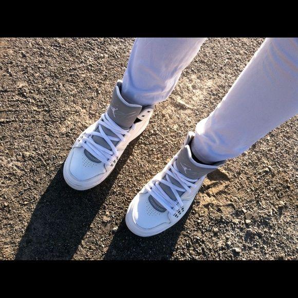 Jordans (7 boys) I love them just to big ! 8/10 condition TRADE OR BUY Jordan Shoes