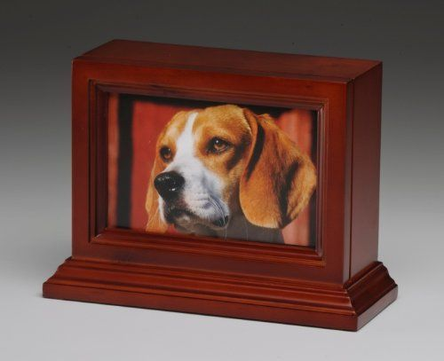 Pet Urn Peaceful Pet Urn Dog Cat Animal Cremation Urn Photo Frame With Glass Front * You can get more details by clicking on the image.