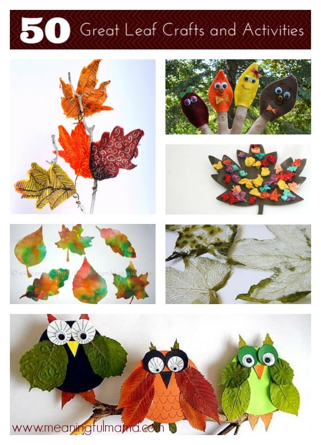 50 Leaf Crafts and Activities and Mega Cash Giveaway 4 x $500 cash prizes!!