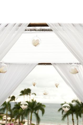 Elegant Altar For A Beach Wedding At The Four Seasons Maui Photo By Ashley Camper