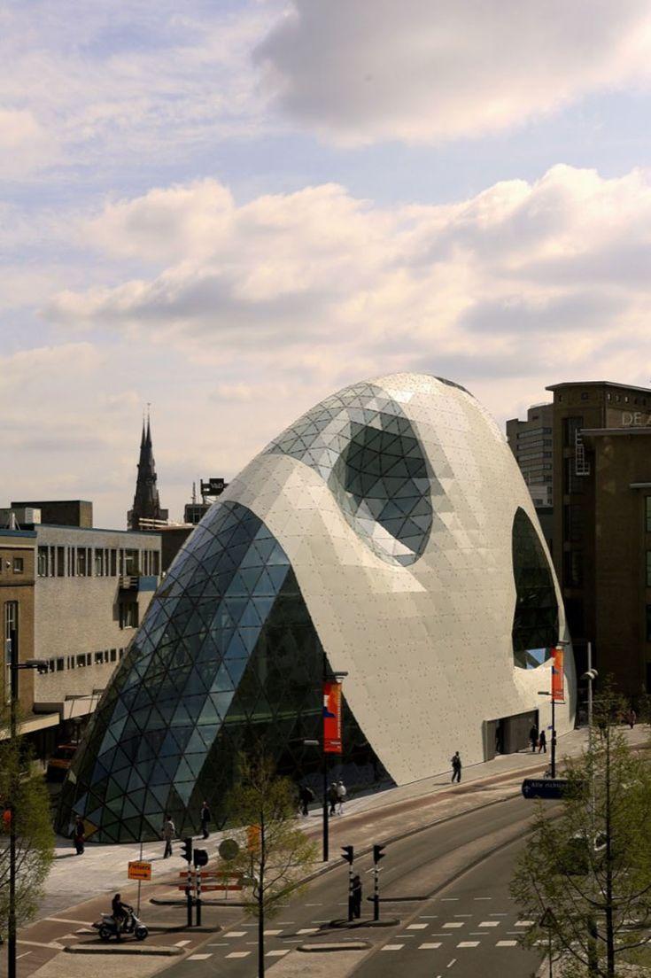 Admirant entrance building, Eindhoven, The Netherlands, Massimiliano & Doriana Fuksas