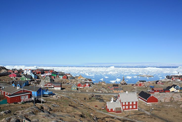 Ilulissat, Greenland. Photo (cc) Greenland Travel.