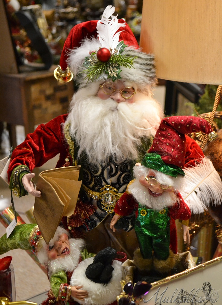 Santa & his elves.