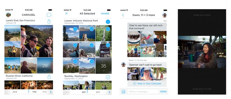 Dropbox lanza aplicación para ver videos e imágenes llamadaCarousel