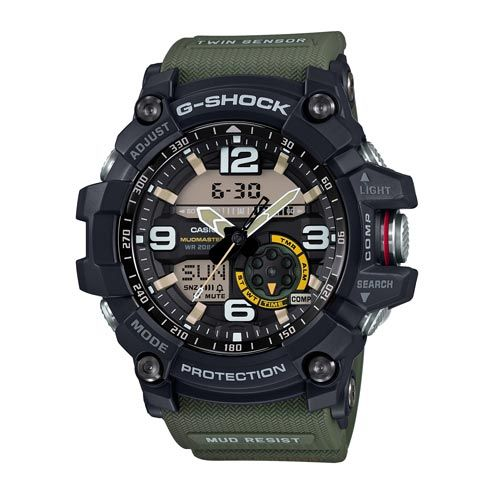 G-SHOCK Master of G GG1000-1A3 - This is the latest new addition to the MASTER OF G MUDMASTER Series.