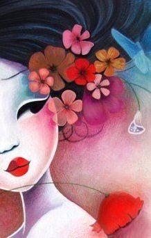 Menina das Flores