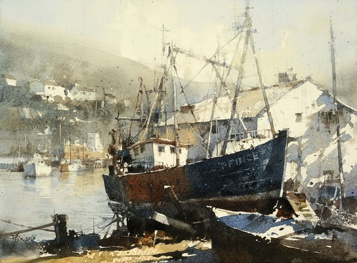 Watercolor by Chien Chung Wei The Prince isReady