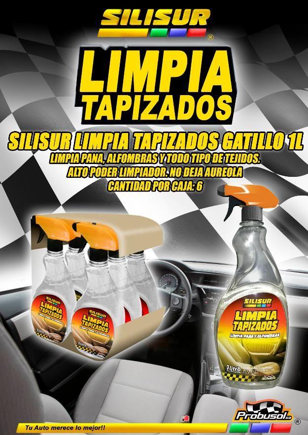 Silisur Limpia Tapizados gatillo 1L pack 6u - José Clemente Paz