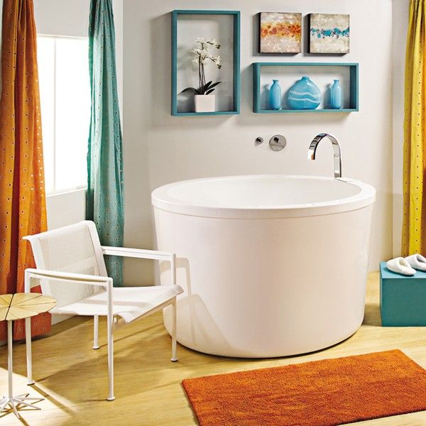 kohler japanese soaking tub. MTI Yume is Japanese inspired with generous depth  Crescent shaped bench seating low to the floor for maximum immersion 24 best Ofuro Master Bath images on Pinterest Bathroom ideas