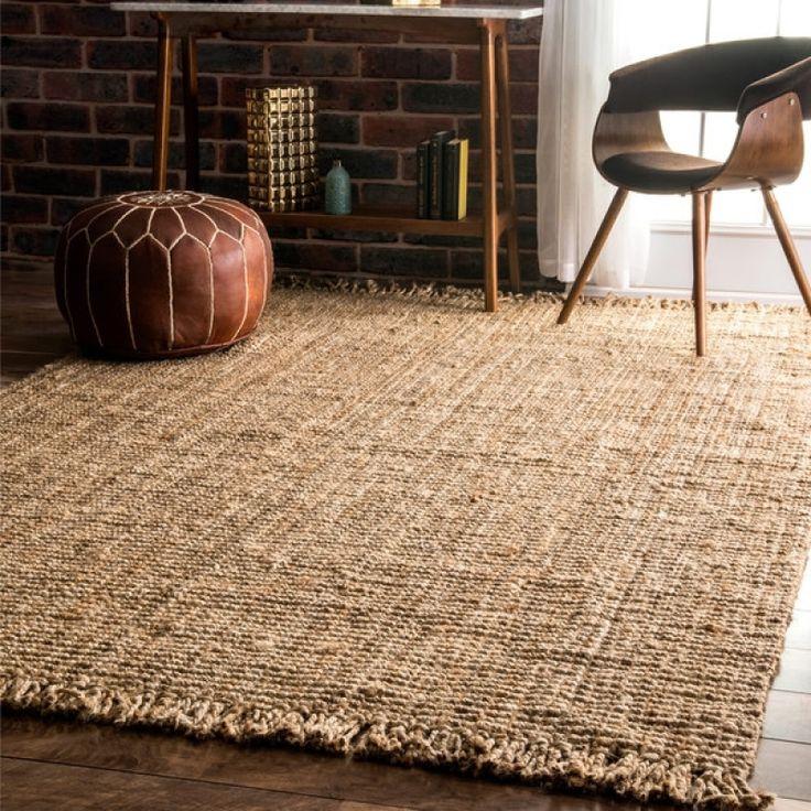 6x9 jute rug 6x9 jute rug nuloom handmade eco natural fiber chunky loop jute rug 639