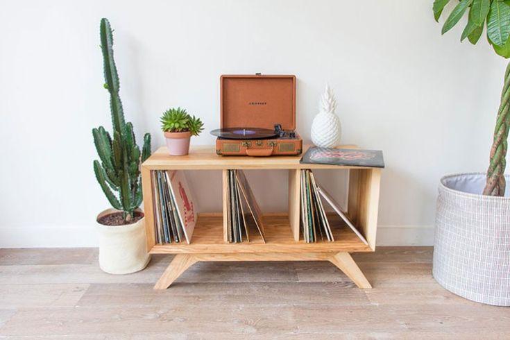 O trouver de jolis meubles de rangement pour nos vinyles living dining room meuble - Trouver des meubles de salon pour vous ...