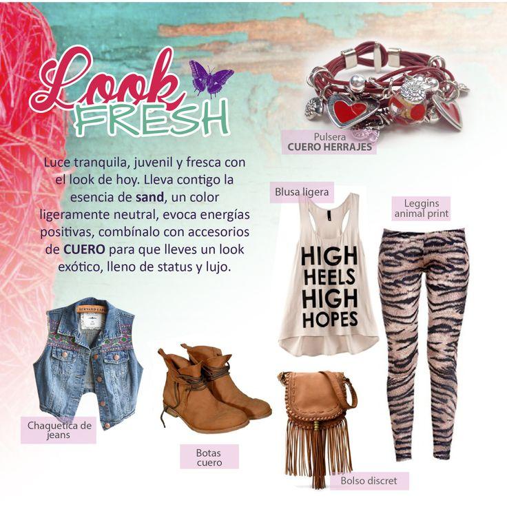 #DIY #HazloTuMismo Luce tranquila, juvenil y fresca con el estilo fresh!!!