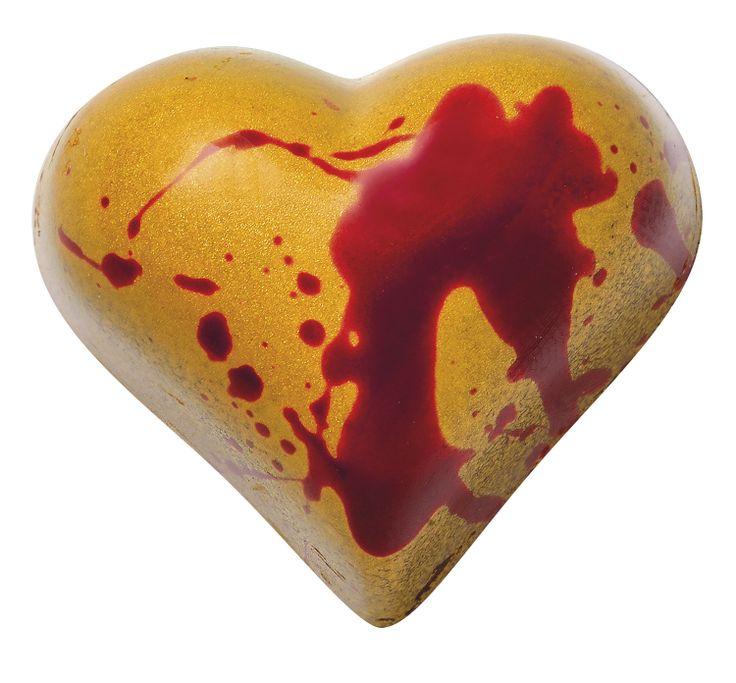 Passion Meurtrière : ganache au crémant d'Alsace, grain de cassis façon Kir Royal. Plaisir No Limit ! Jacques Bockel, Chocolatier-Créateur -  www.planet-chocolate.com