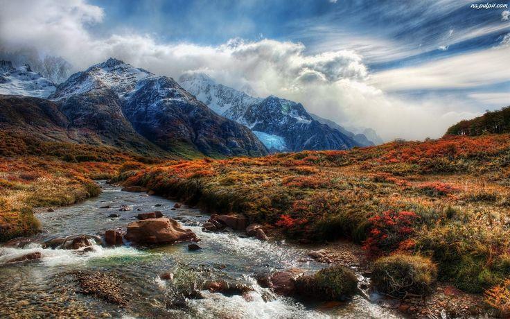 Chmury, Góry, Rzeczka