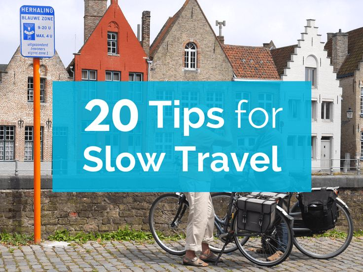 Thinking of turning your wanderlust into local experiences around the world? Put these tips for slow travel to use and join the slow travel movement!