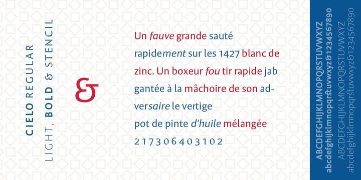 Cielo - Webfont & Desktop font « MyFonts