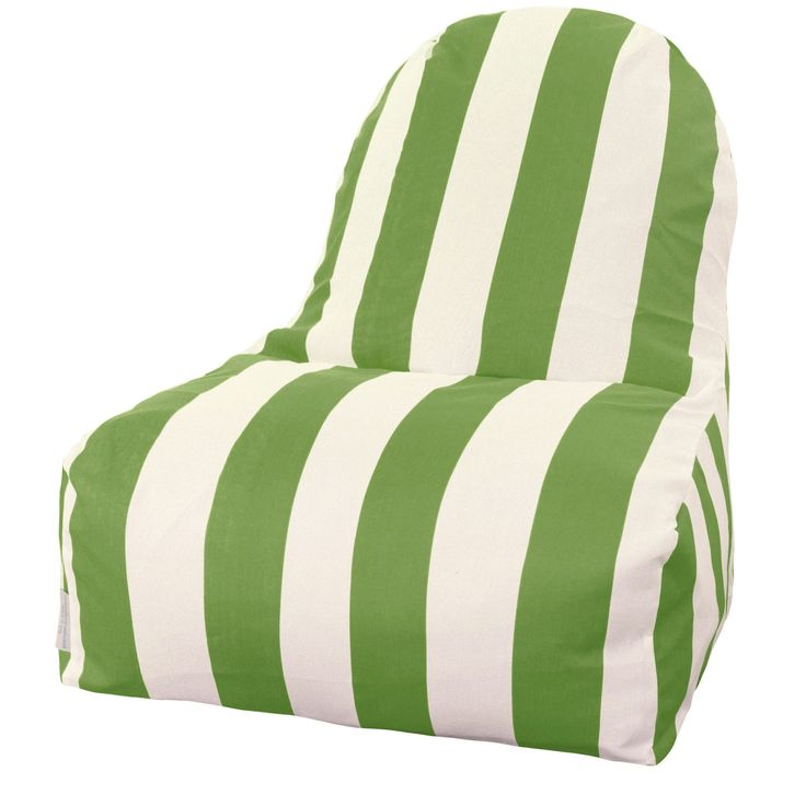 Vertical Stripe Bean Bag Lounger