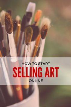 How To Start Selling Art Online