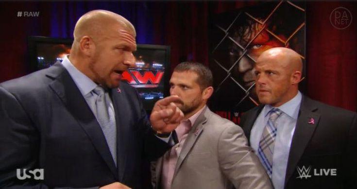 Triple H sends.. um.. Jamie Noble.. after Ambrose. Ha.. haha... hahahahahaha #RAW