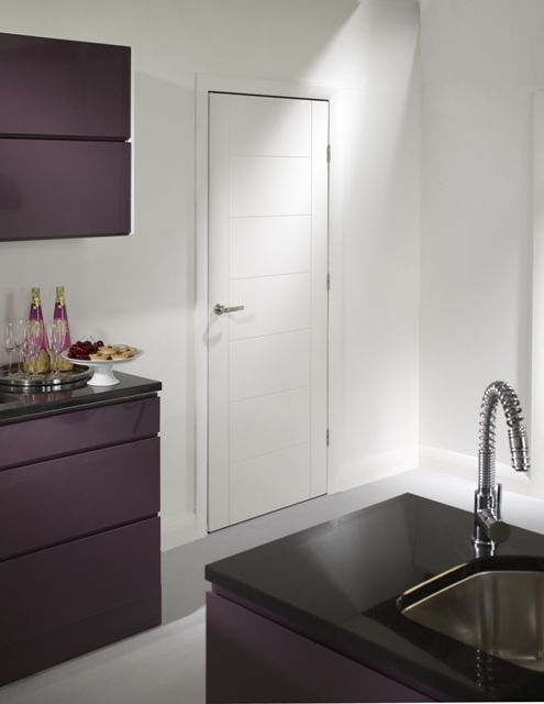 Palermo White Internal Door & 47 best Fire doors internal images on Pinterest | Fire doors ...