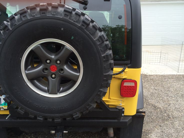 DIY jeep tj led tail lights using the factory housing check