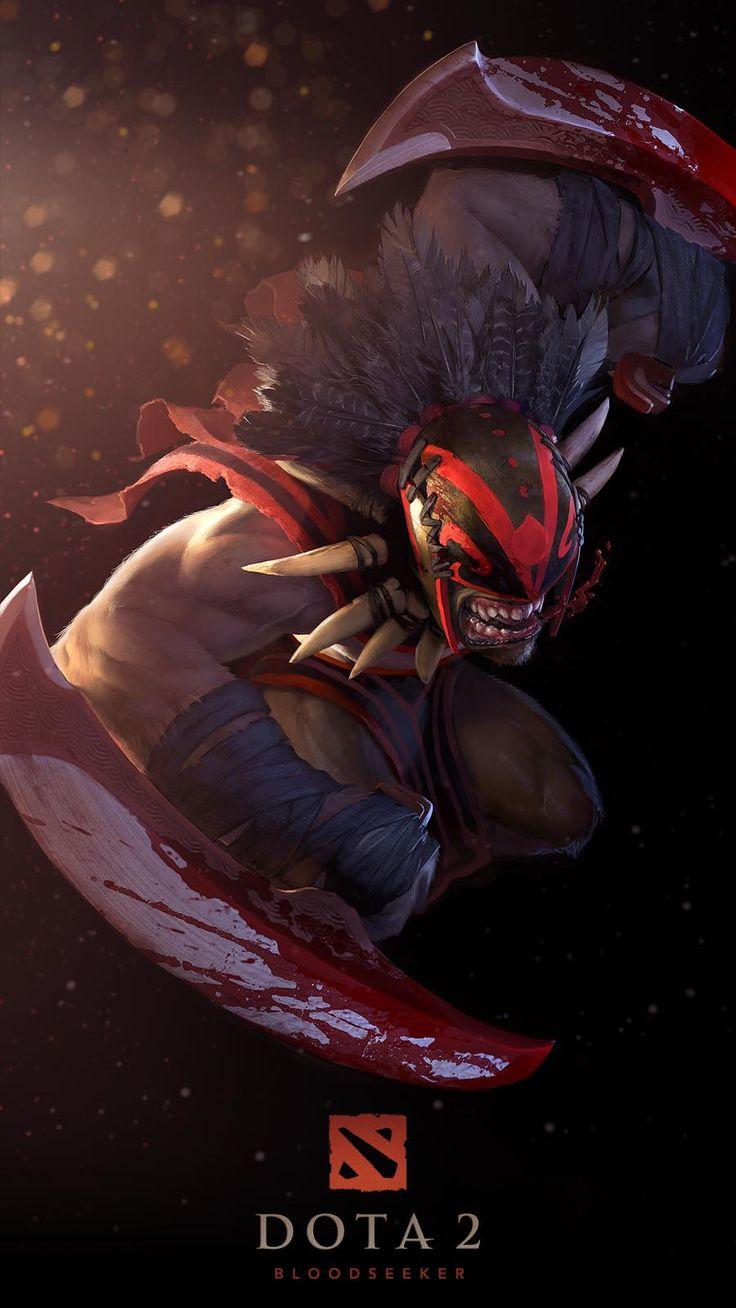 Bloodseeker - DotA2 - Character Design / Concept Art
