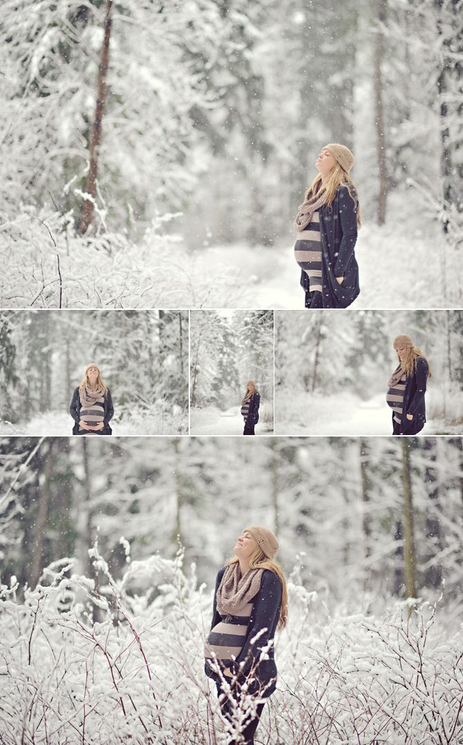 outdoor snow maternity - needs ideas for my own session in february! won't be this much snow though that's for sure!