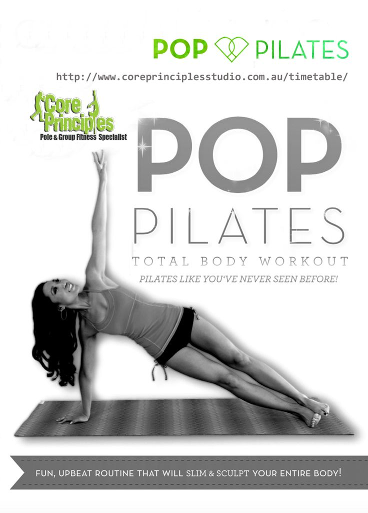 Let your inner beauty out — Pop Pilates 10:15 am this time with Annemarie…