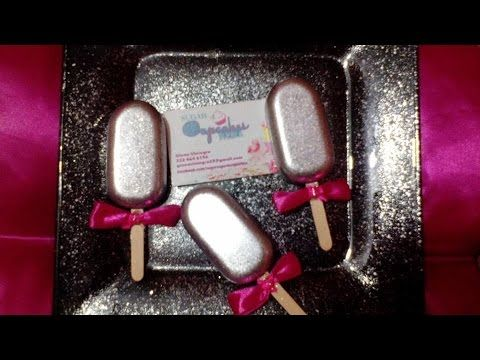 Paletas TIPO MAGNUM Caseras / Pop Lace - YouTube