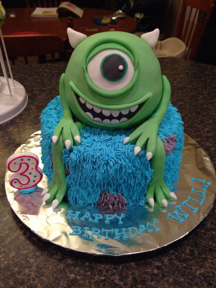 Best 25+ Monster university cakes ideas on Pinterest ...