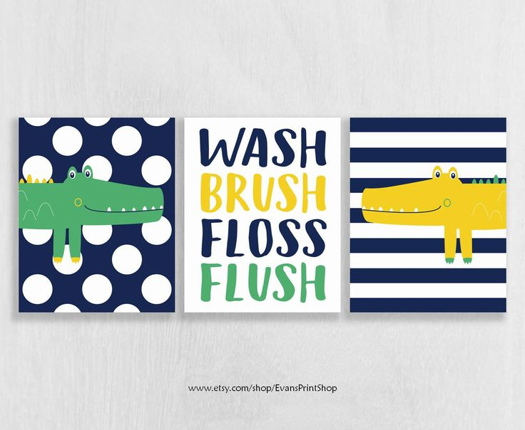 Alligator Bathroom Art Prints Set Of 3 Alligator Bathroom Decor Kids Bathroom Art Boy Bathroom Decor Bathroom Art Brothers