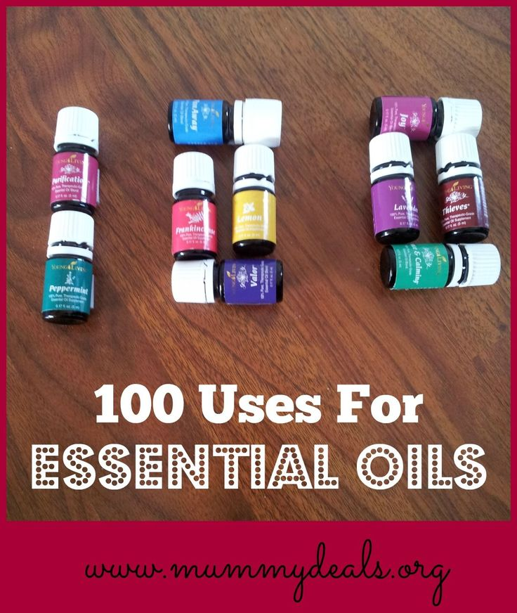 100 Uses For Essential Oils is your quick reference guide for what oils you can use to help out a variety of ailments. #essentialoils