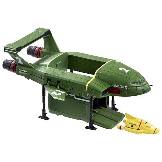 TB 2 with mini TB4 | Thunderbirds | Shop online at DirectToys NZ