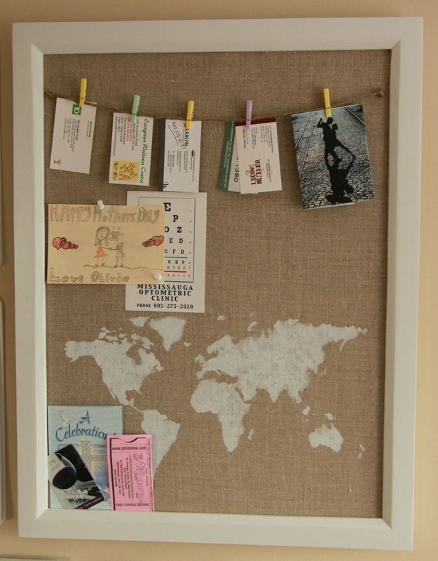 71 best cork board ideas images on pinterest cork boards for Diy bulletin board for bedroom
