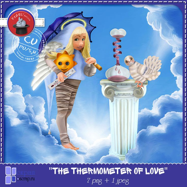 "CU Vol.6 ""The thermometer of love"" by FedEl'designs"