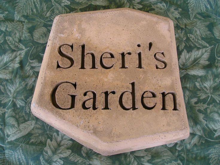 Personalized garden stepping stones my garden idears - Personalized garden stepping stones ...