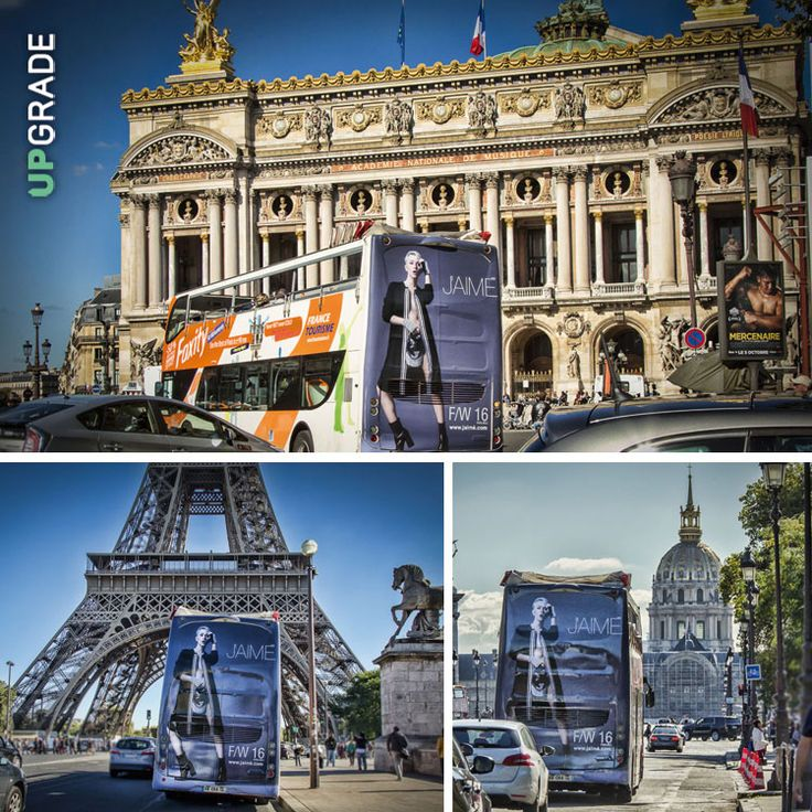 J'AIME' INDUSTRY: FRANCIA - PARIGI #jaimè #jaime #abbigliamento #bus #francia #parigi www.upgrademedia.it